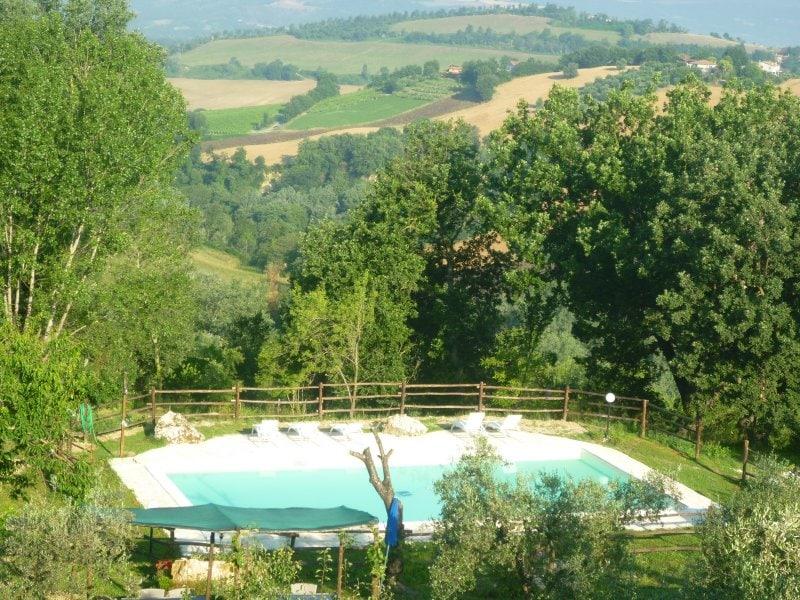 Villa with smimmingpool near rome