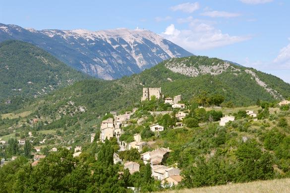 Provence. Village house