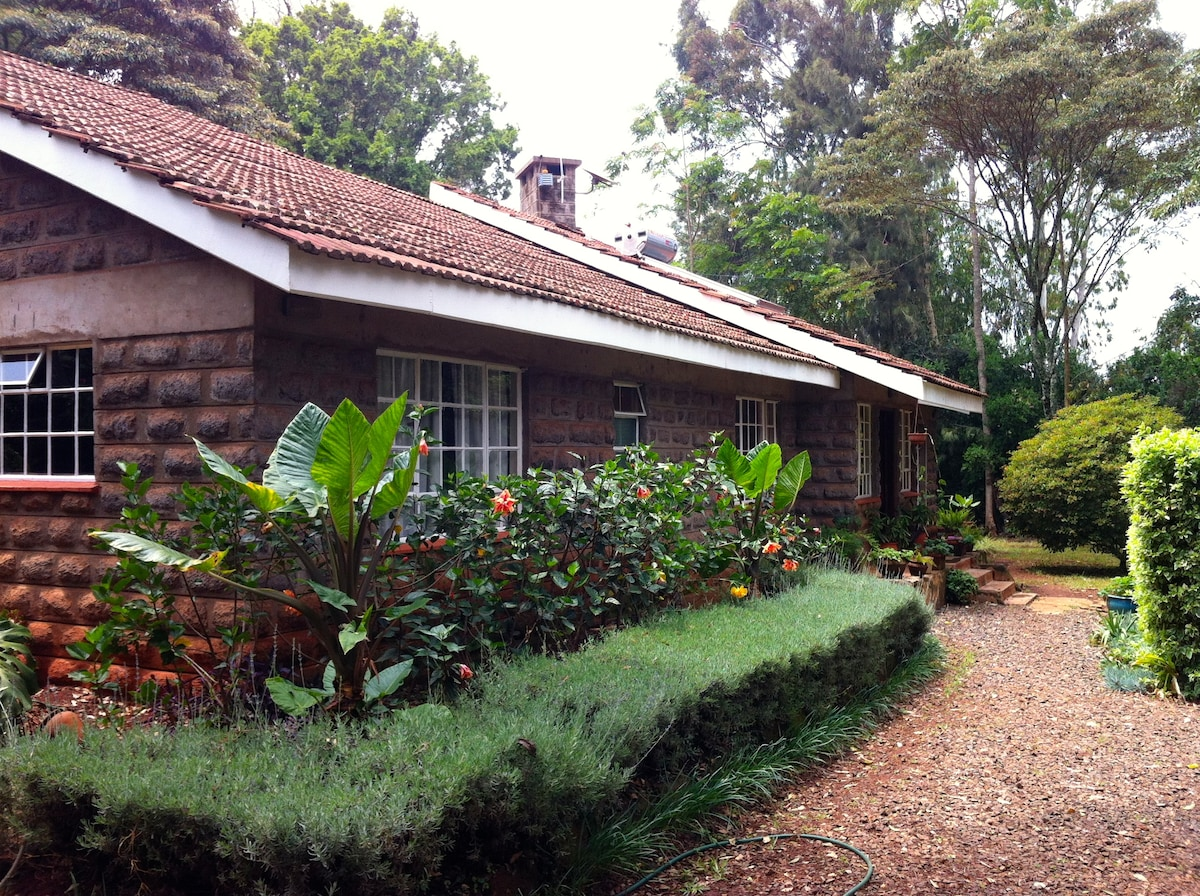 Tranquil, charming and peaceful cottage in Karen