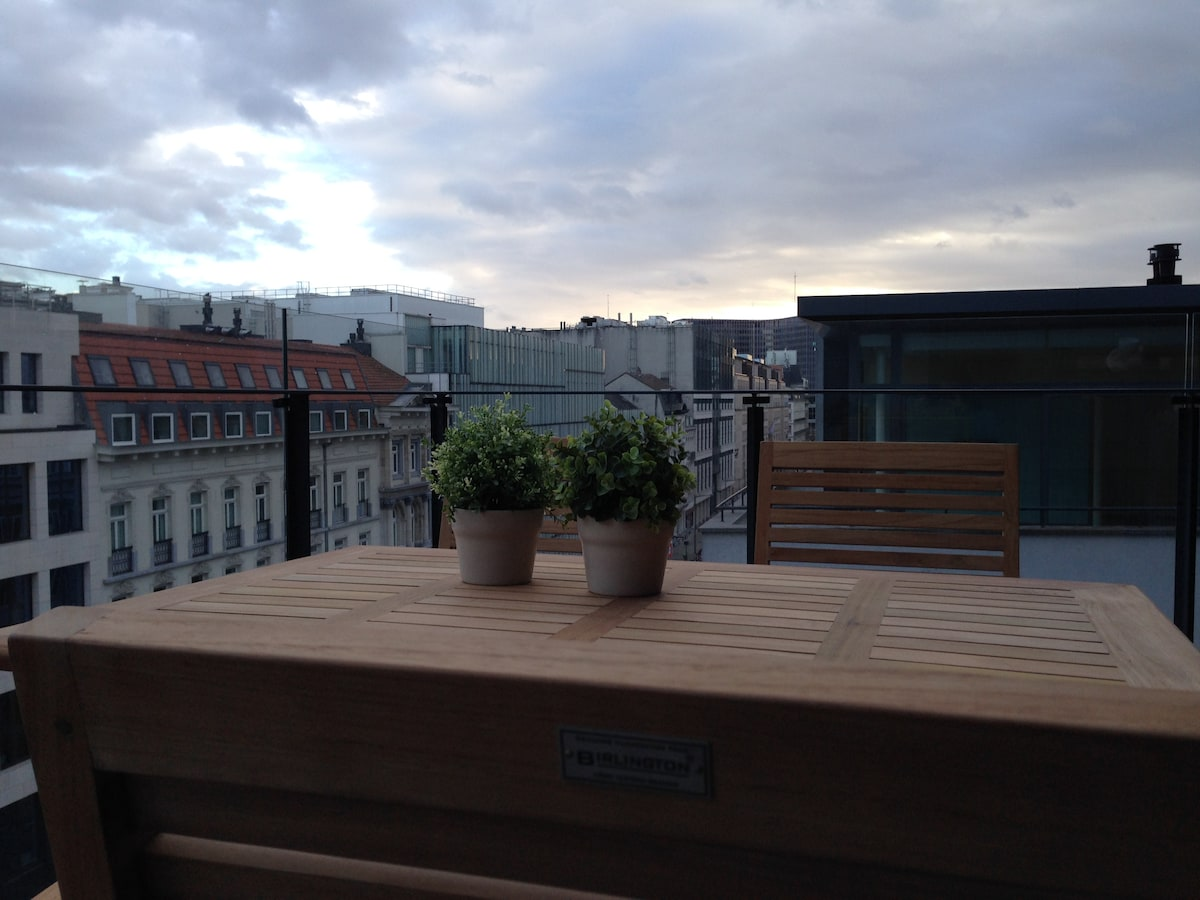 Terrace 1 with amazing    city view