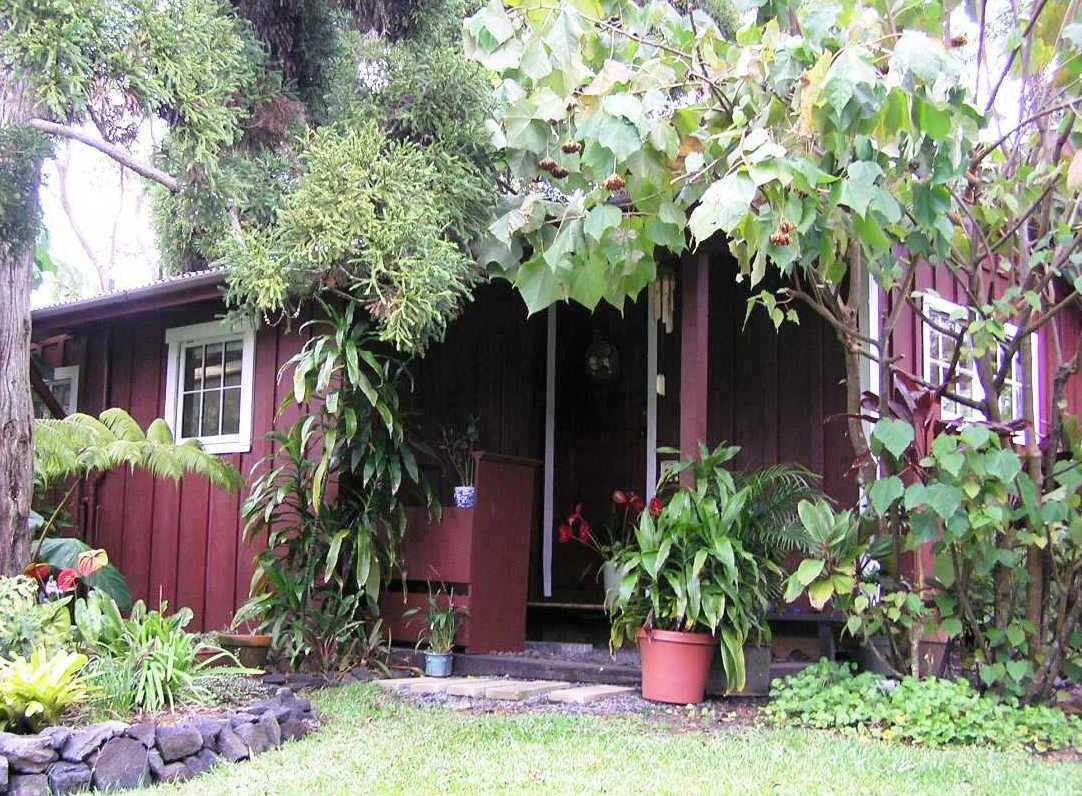 Your private cottage is a restored redwood residence that used to house the groundskeeper.