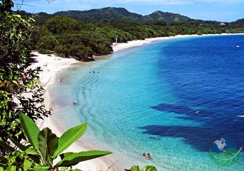 Conchal beach 5 minutes drive.