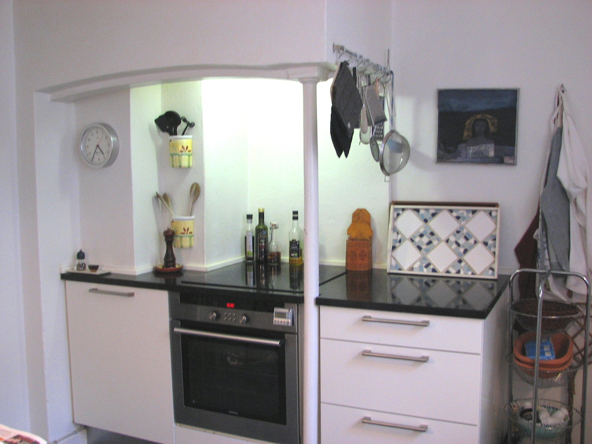 cooking area in kitchen