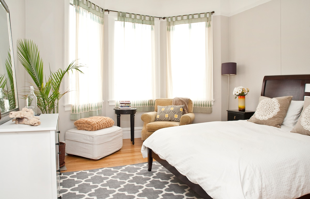 Sunny & Spacious in Mission-Dolores