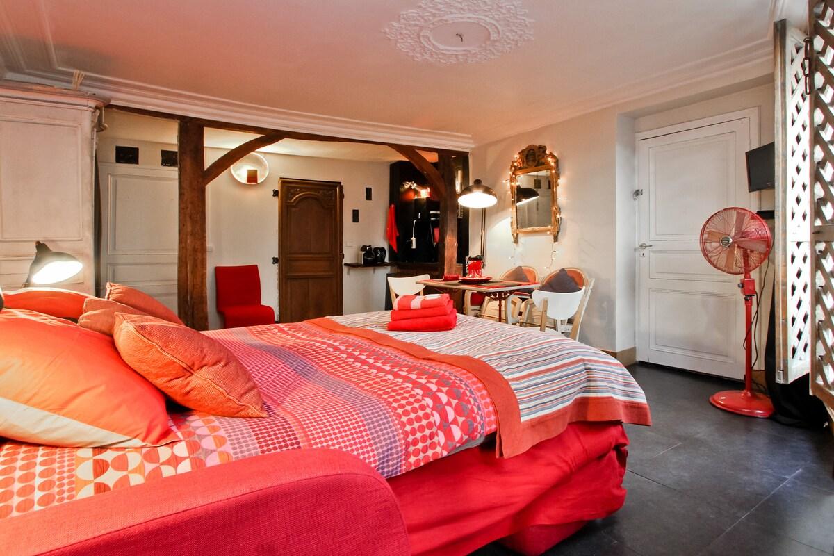 Chambre avec balcon paris centre