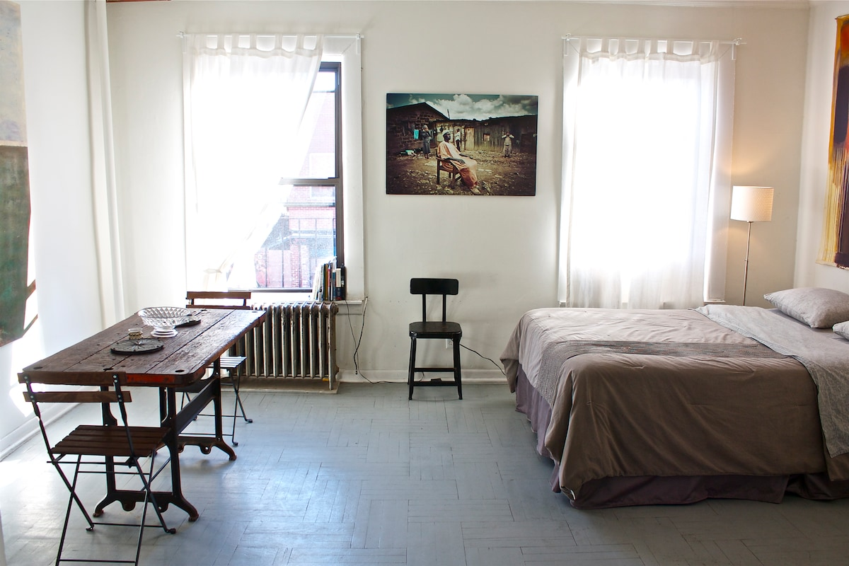 Beautiful studio in Boerum Hill #6