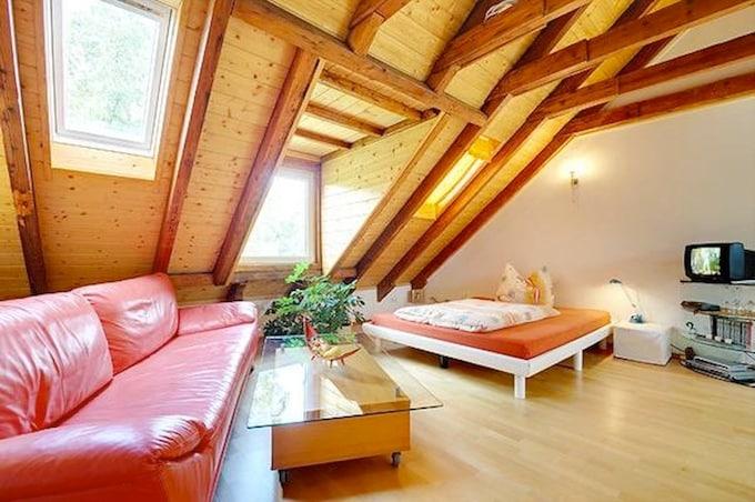 Schönes Appartement im Dachgeschoss
