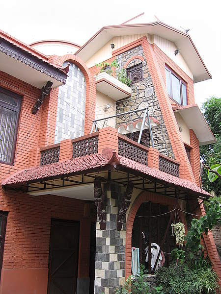 Typical Nepali House.