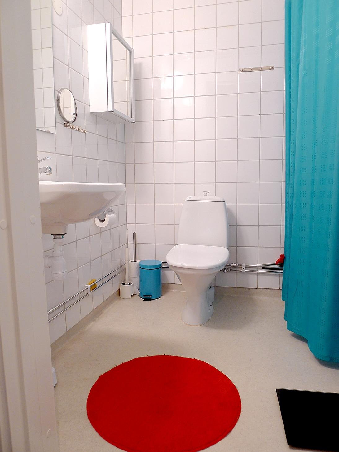 Modern shower/bathroom