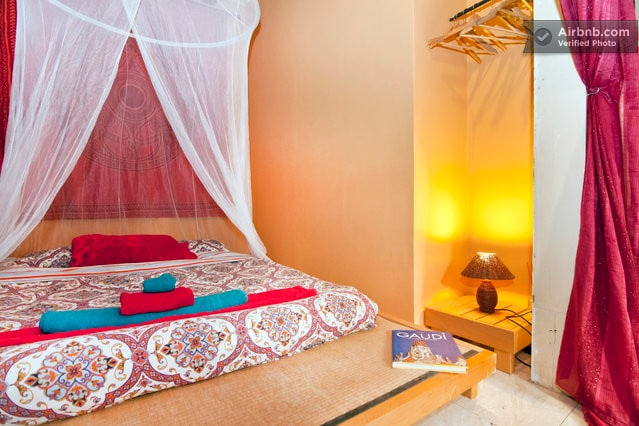 Comfortable 2 metre by 2 metre Japanese futon bed