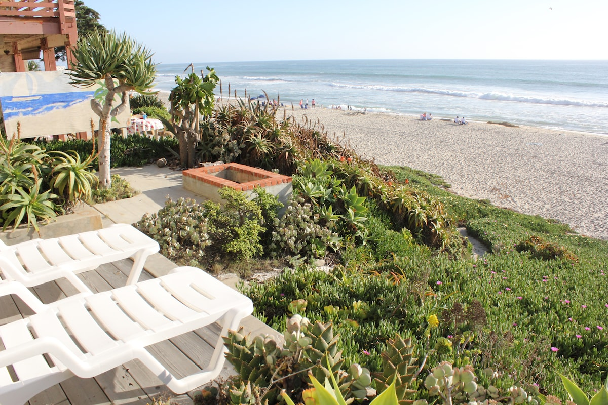 Charming Oceanfront Cottage Condo