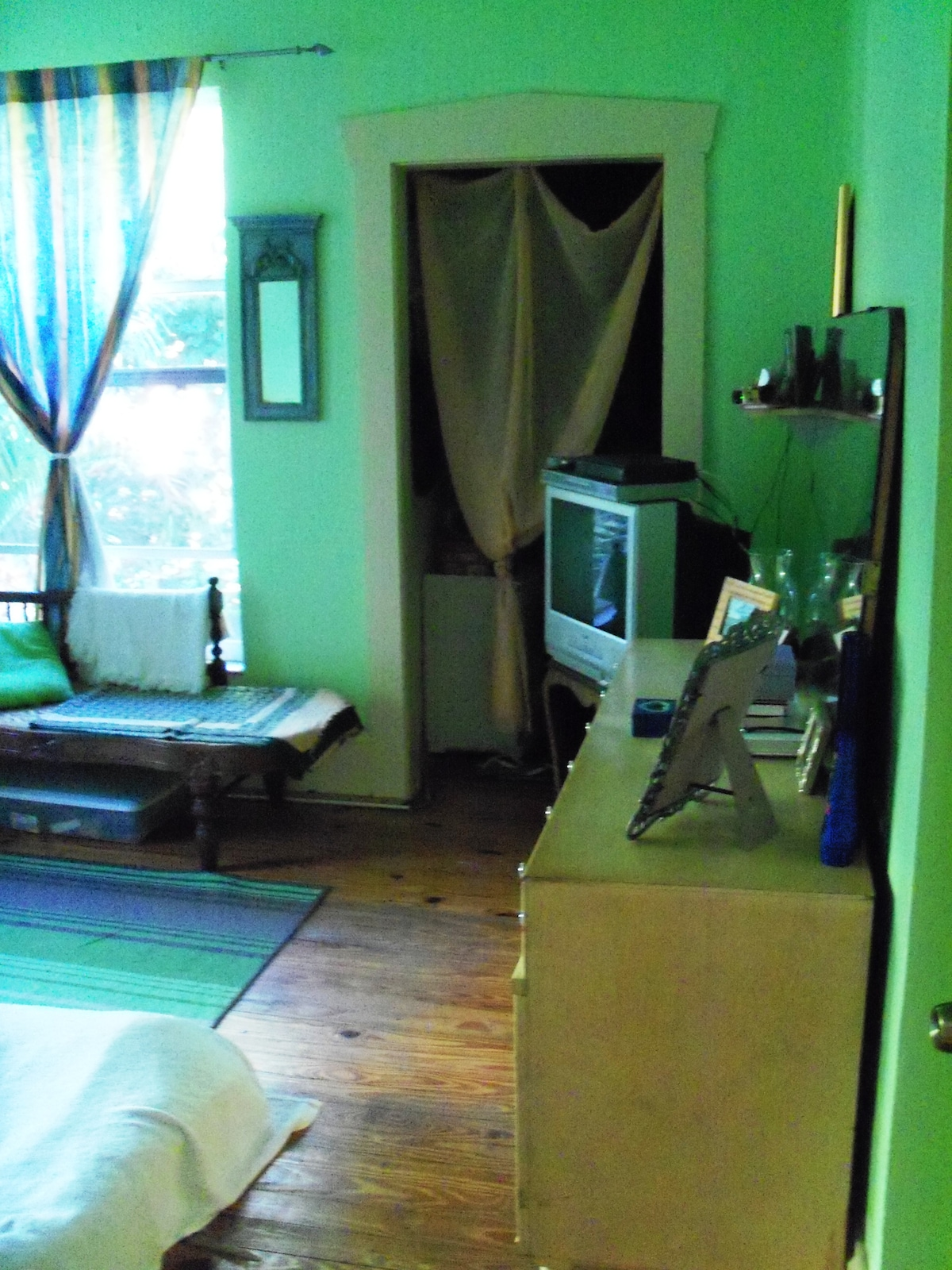 North view of bedroom
