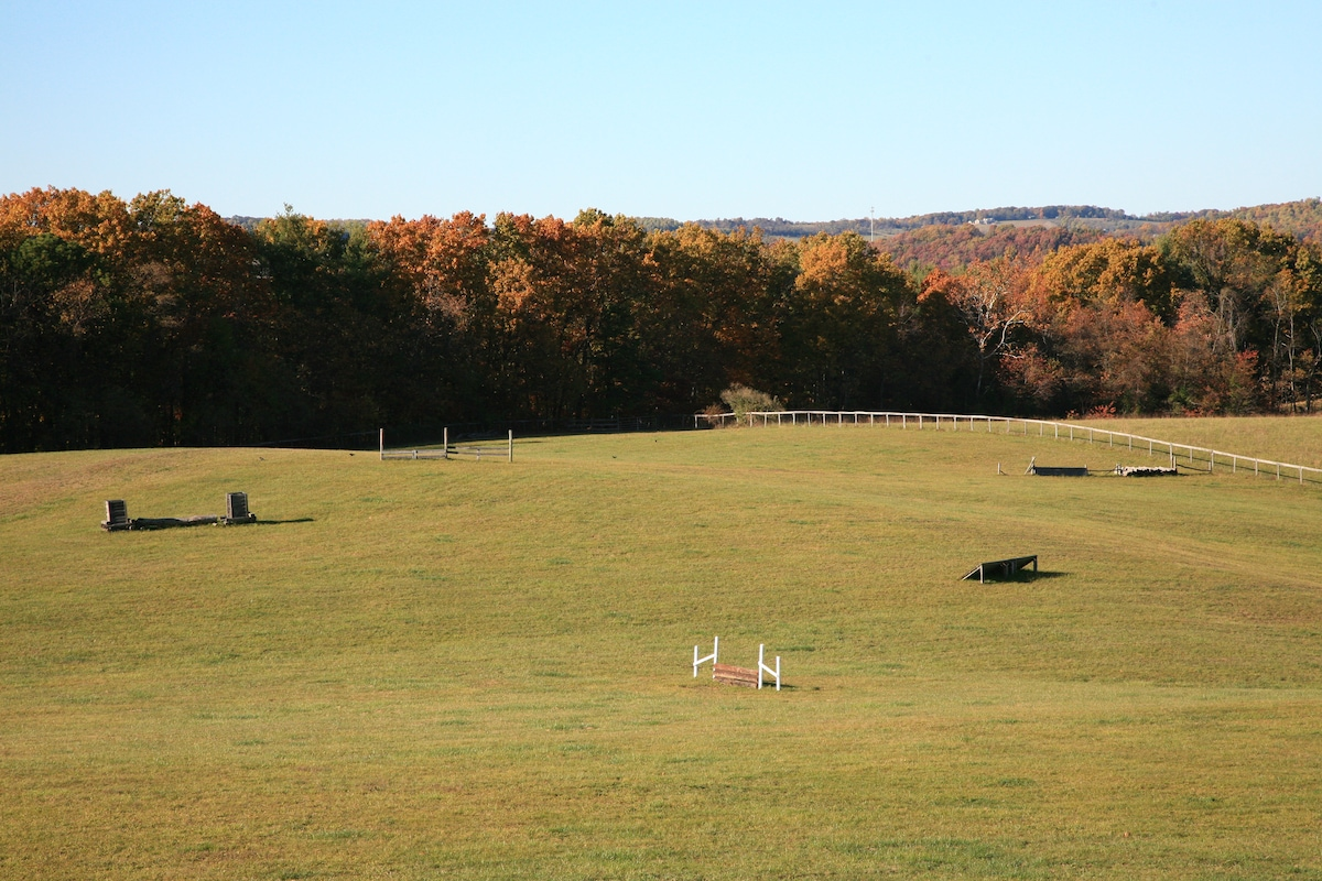 Cross country riding