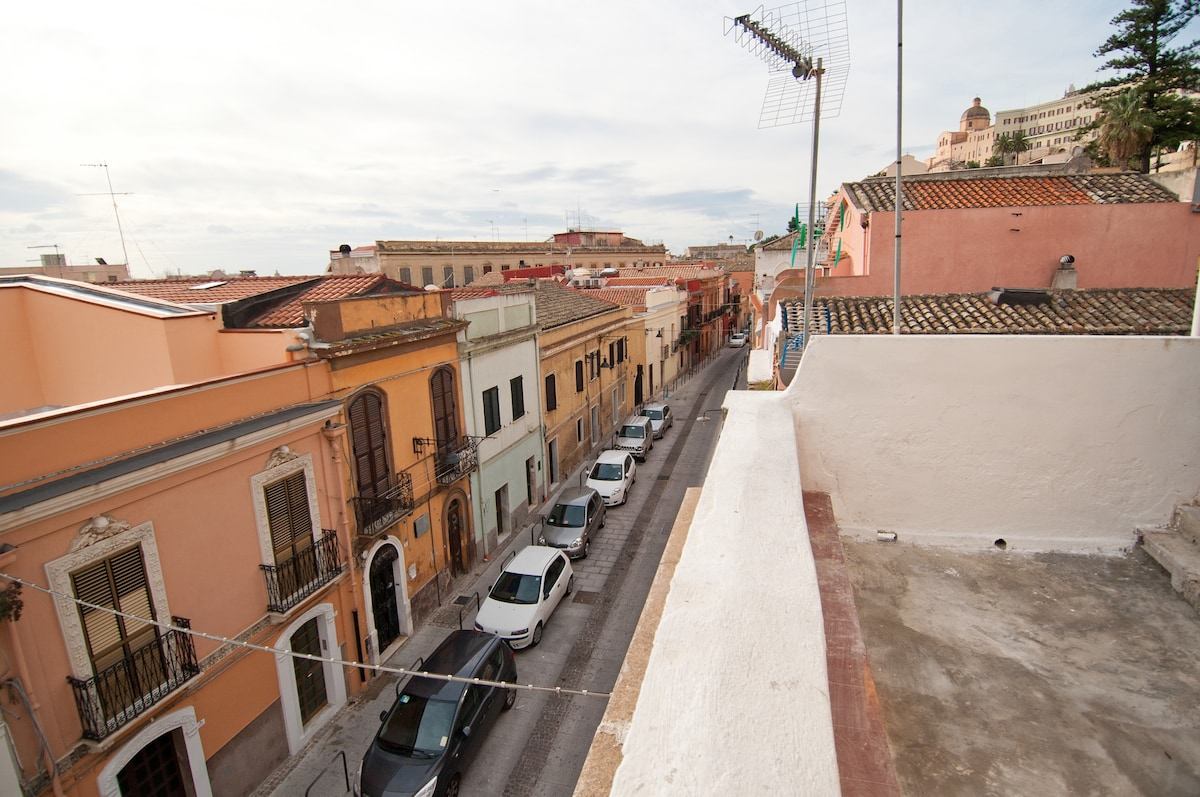 House in the heart of Cagliari