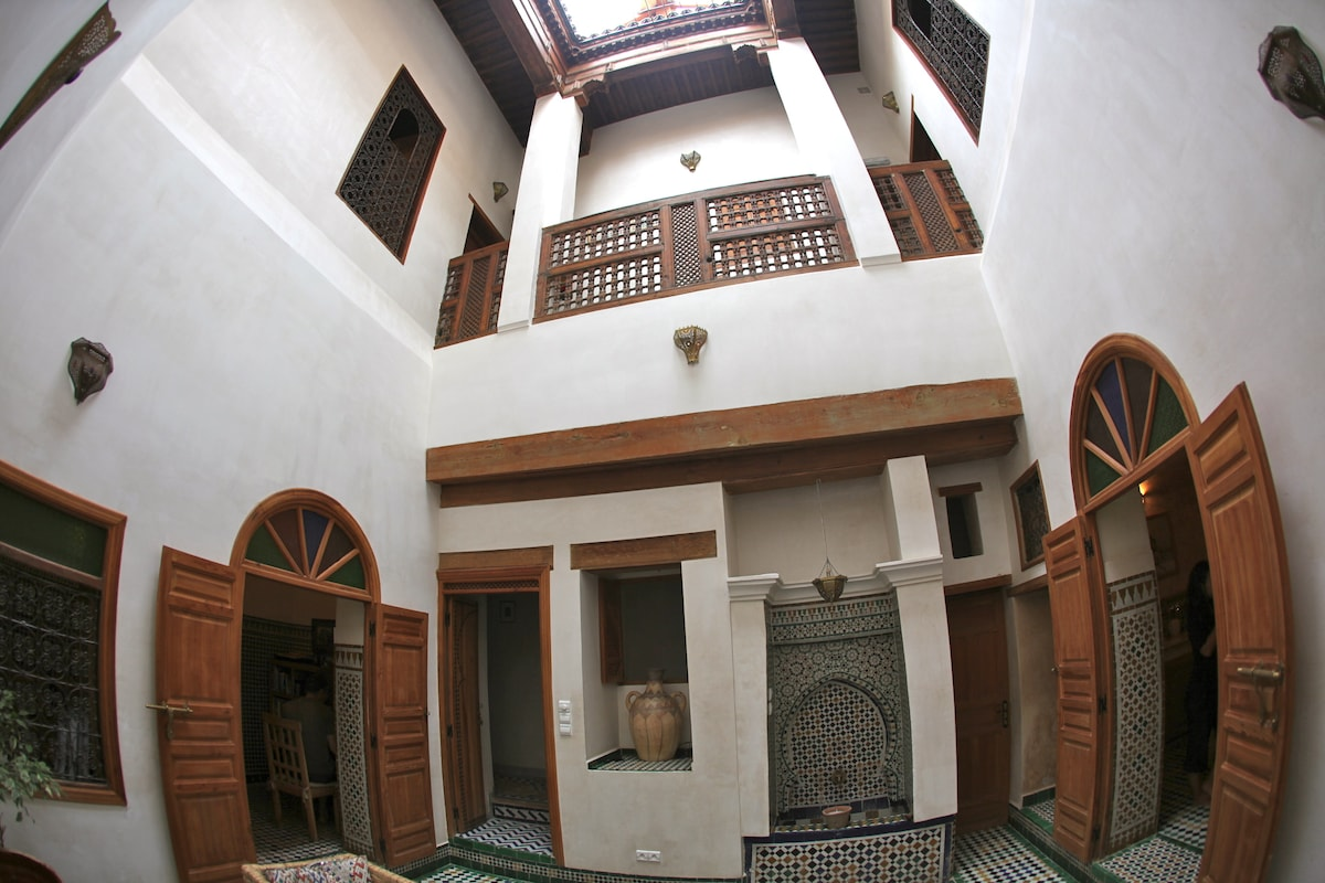 Gorgeous medina house.