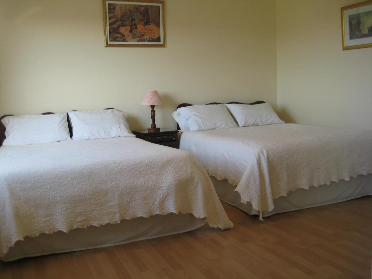 Twin Bedroom - Bed & Breakfast