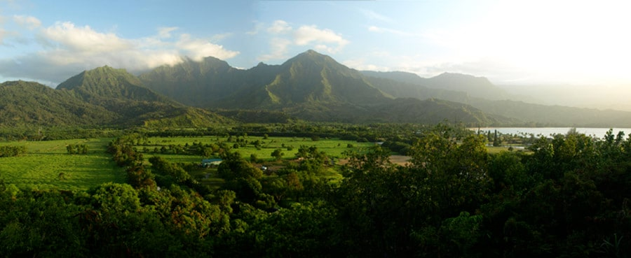 "The Hanalei Vista from your private lanai (As one guest said, ""It's even better in person!"")"