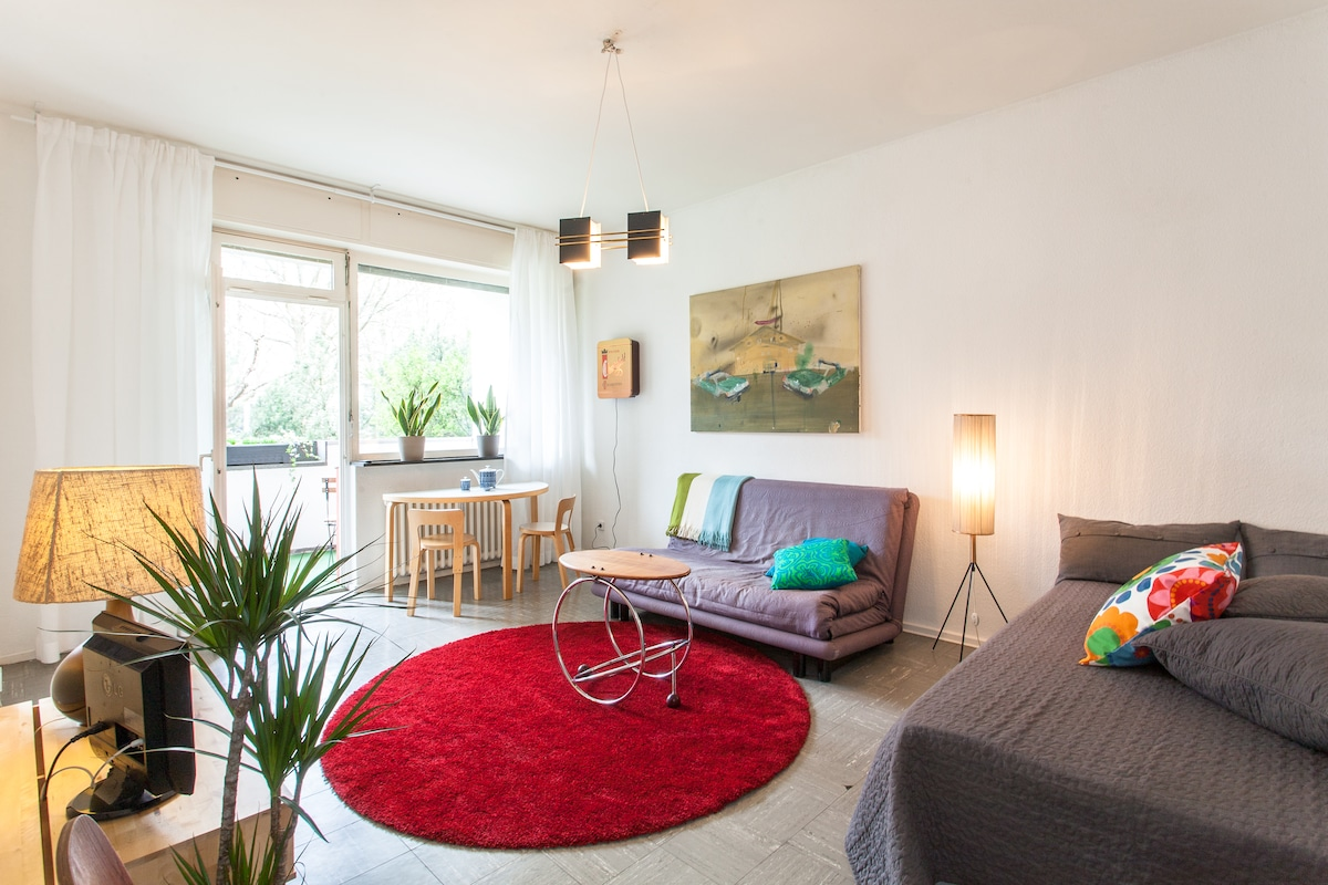 COSY NEST WITH BALCONY IN NEUKÖLLN