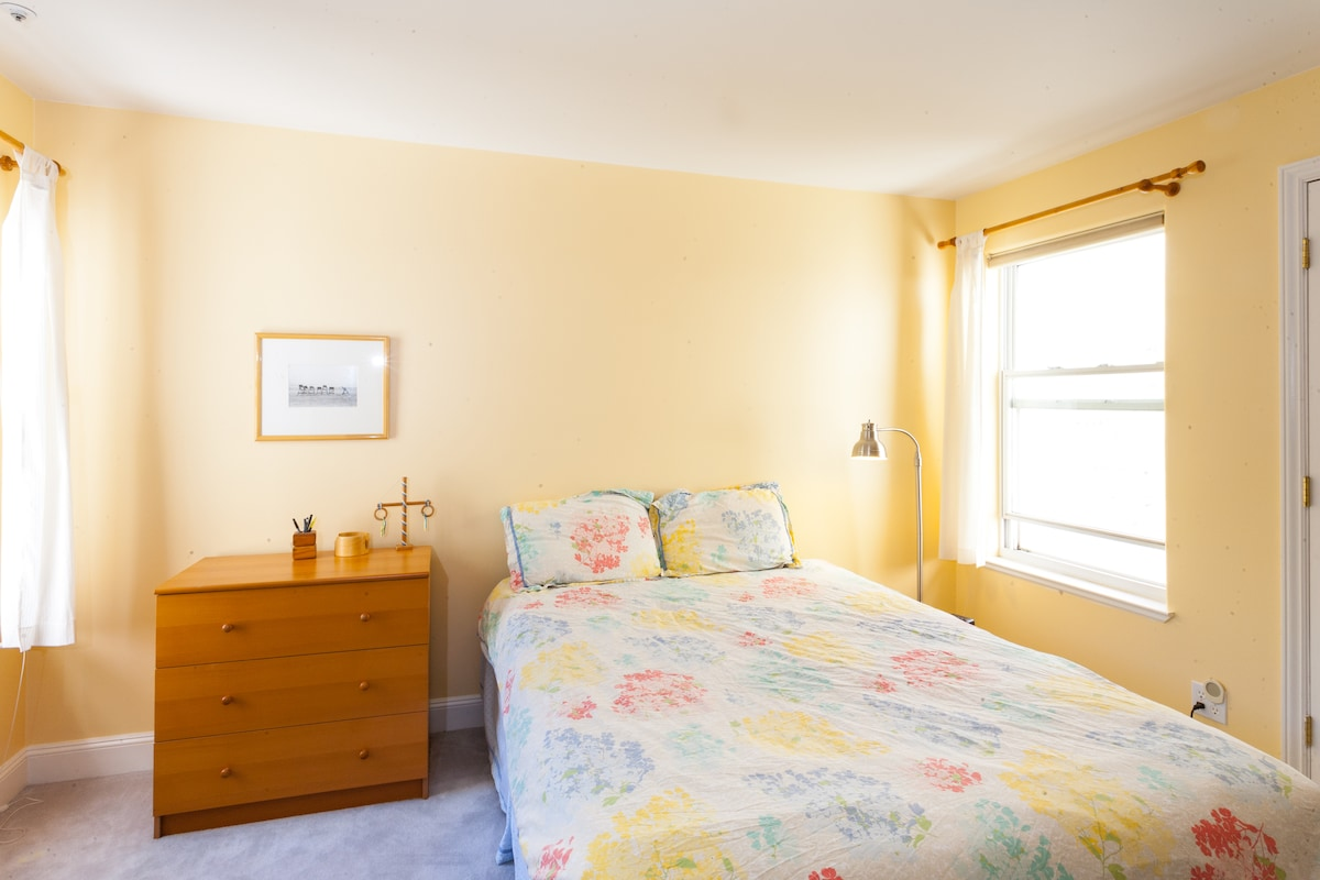 your bedroom, including dresser and closet for your clothes