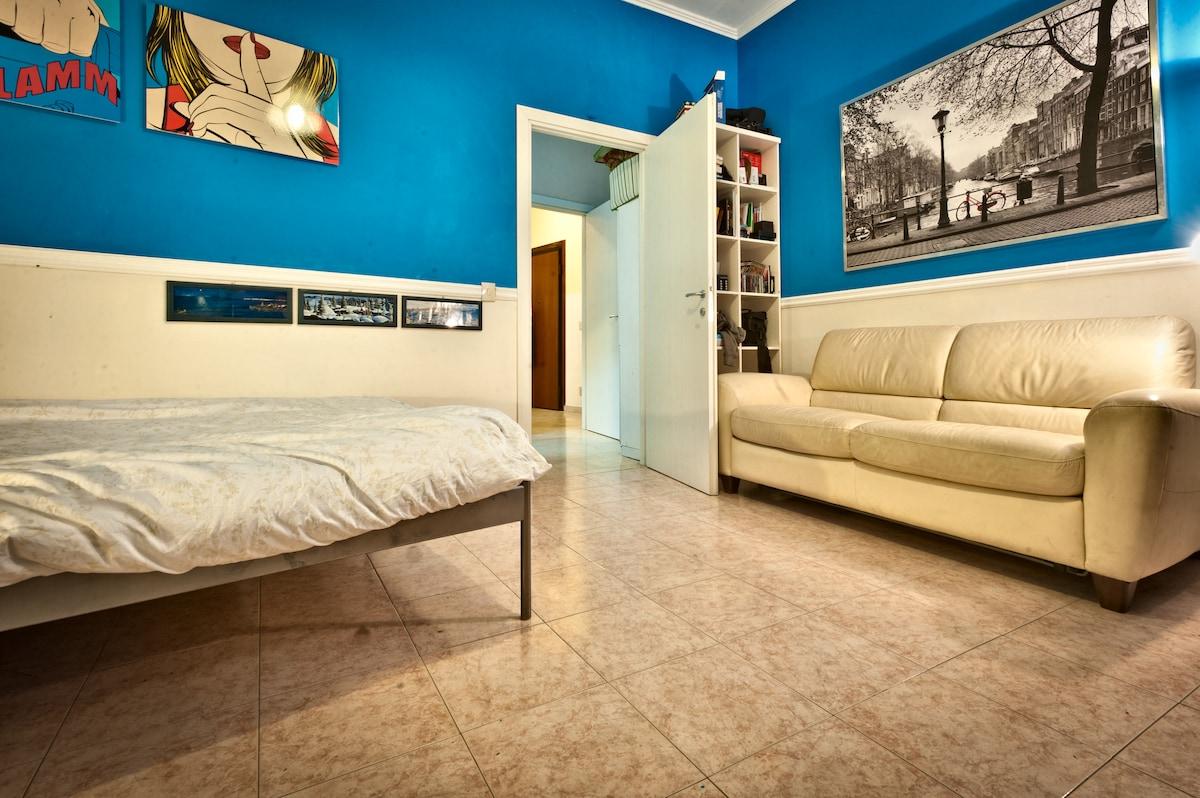 Cosy room close to Udine metro stop