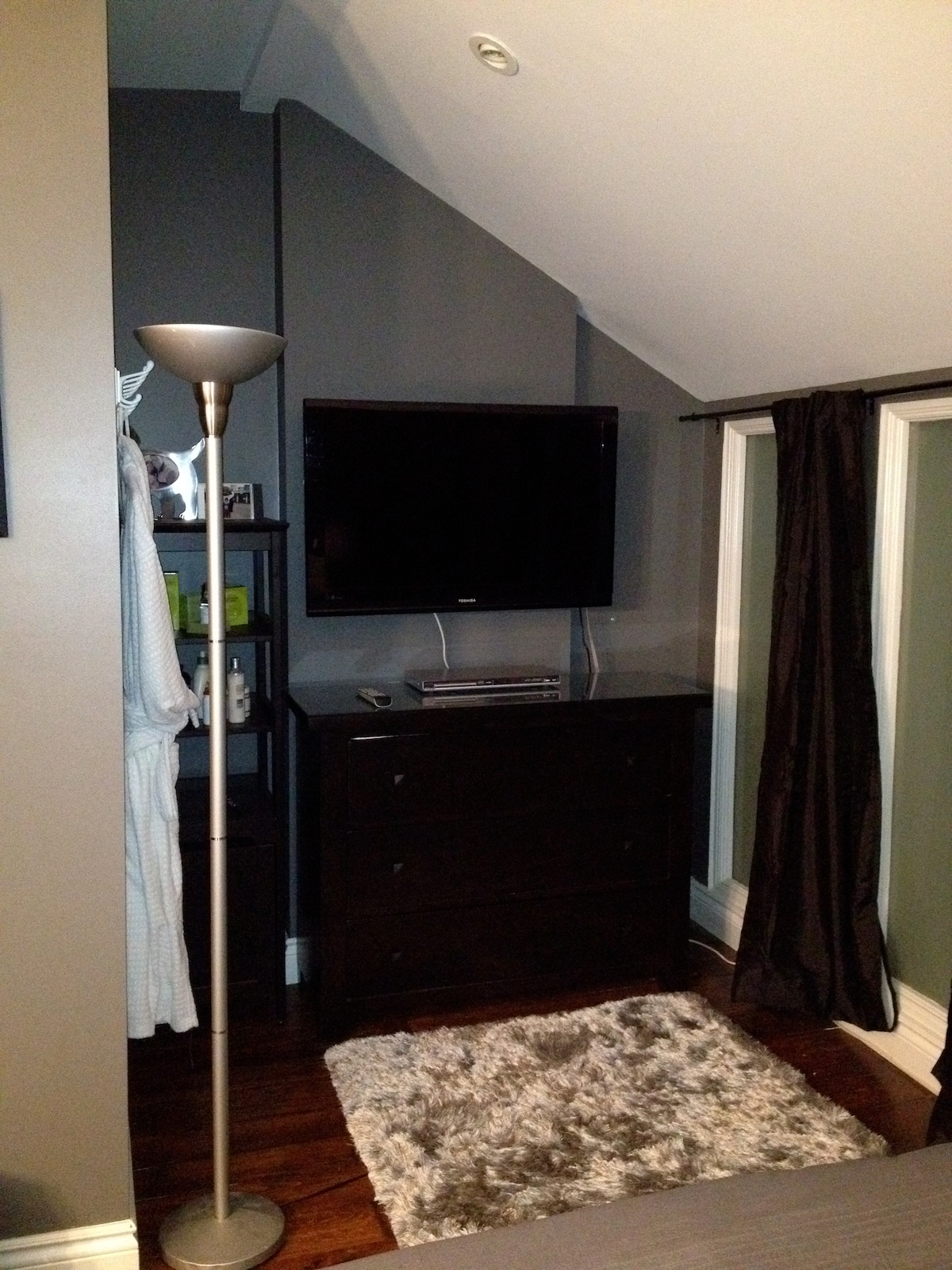 Cable TV and Dresser