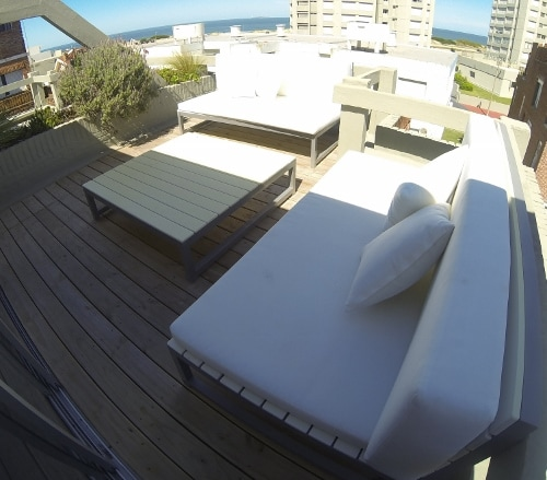 Terrace with full ocean view