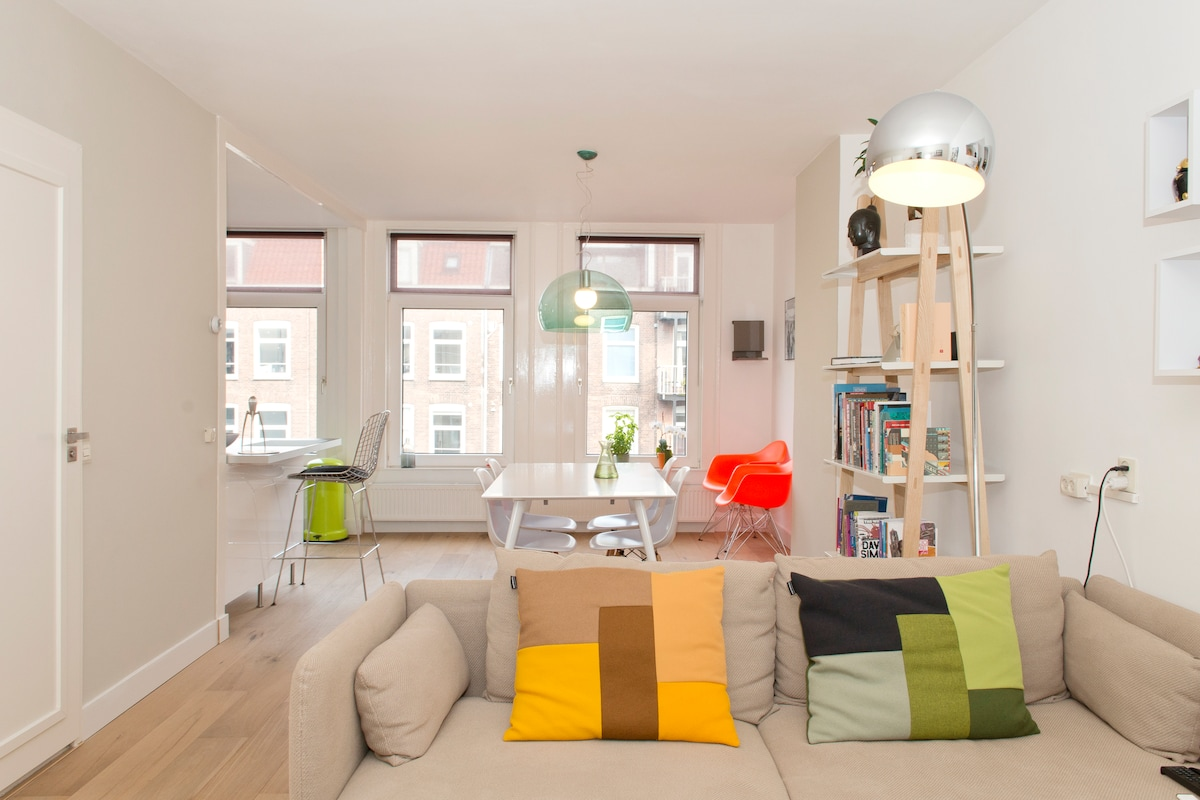 Stylish stay close to the Amstel