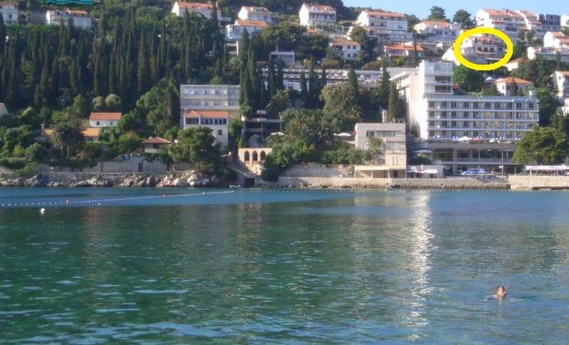 2bed apt,near beach,sea view,Lapad