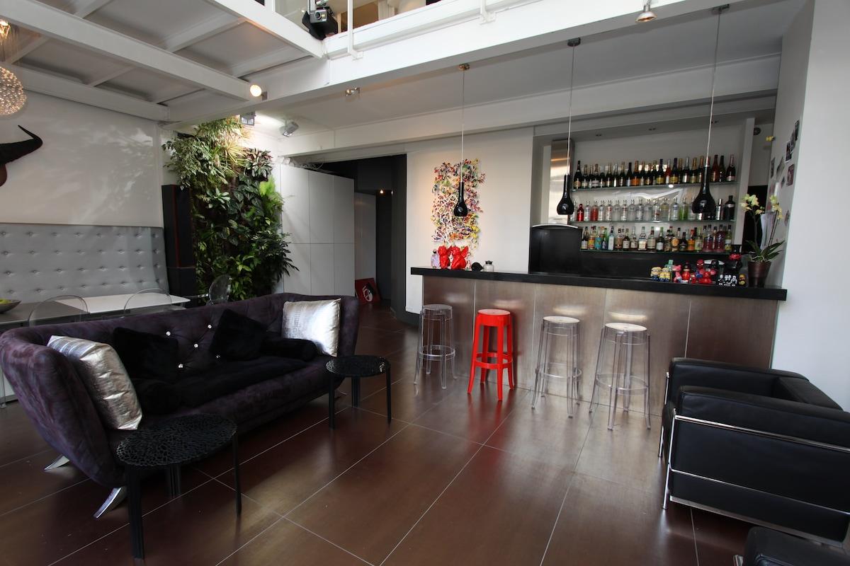 salon et cuisine américaine / living room and kitchen