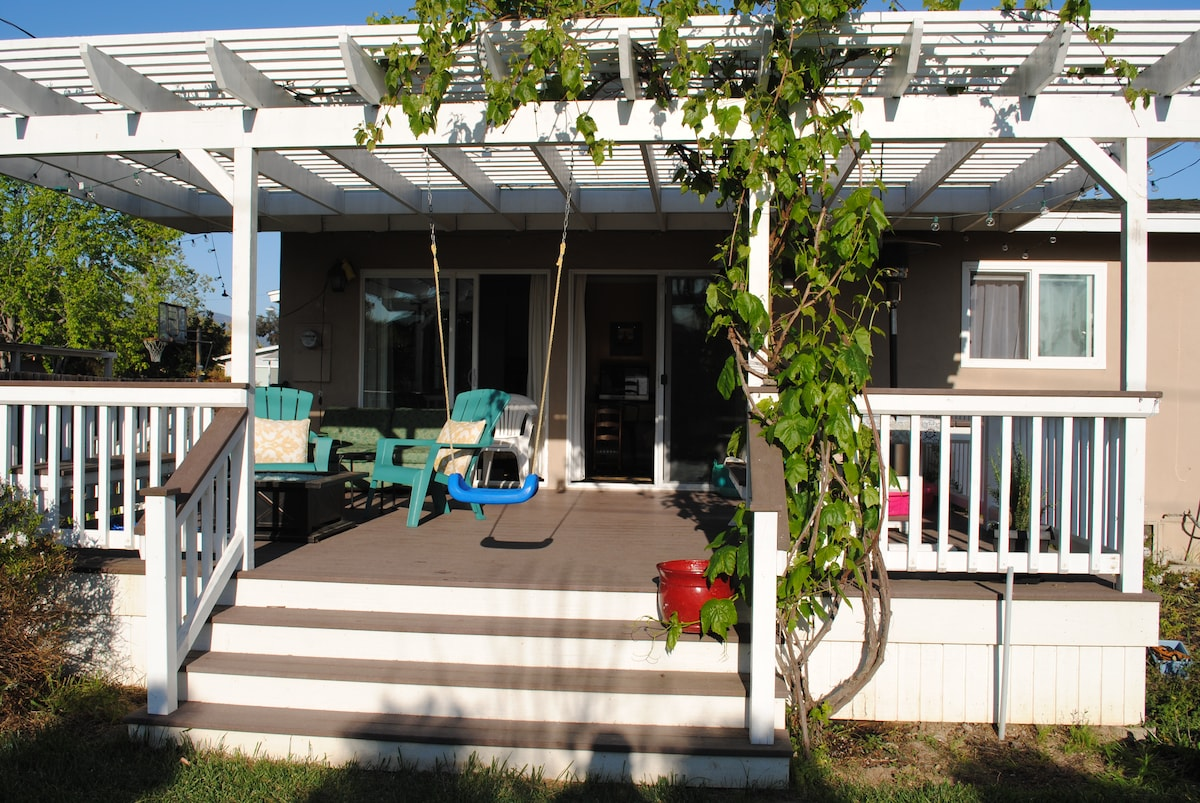 Beautiful home with deck & yard