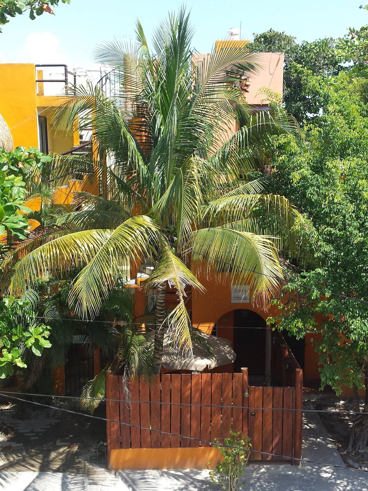 Berry House Queen Room Orange