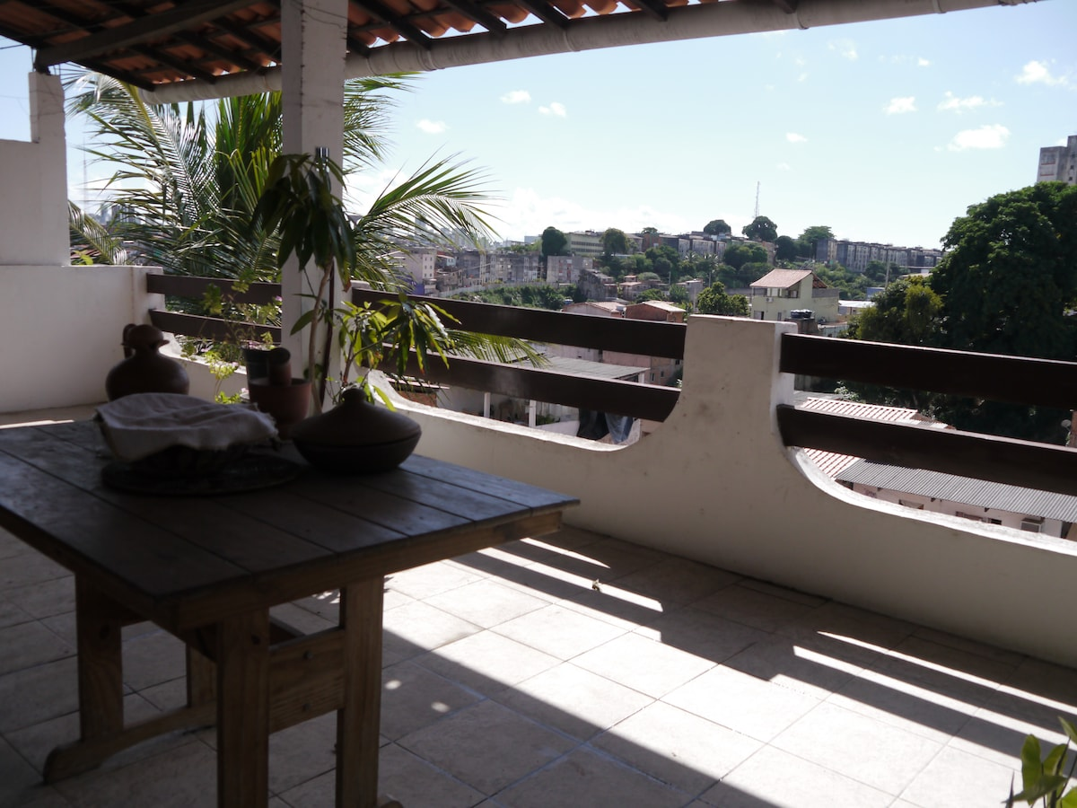 Home with Grand Terrace-Brotas