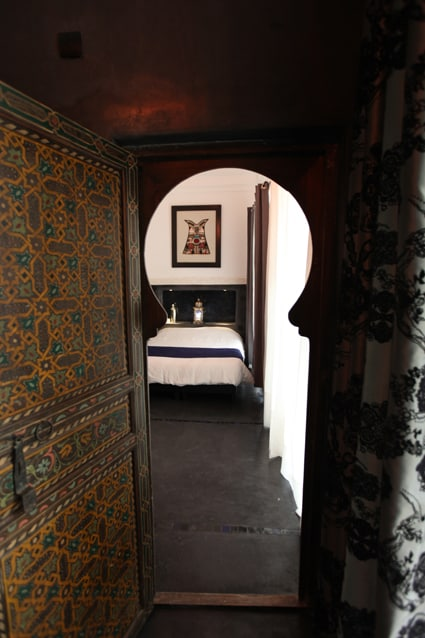 Carbon Room in a magnificent Riad.