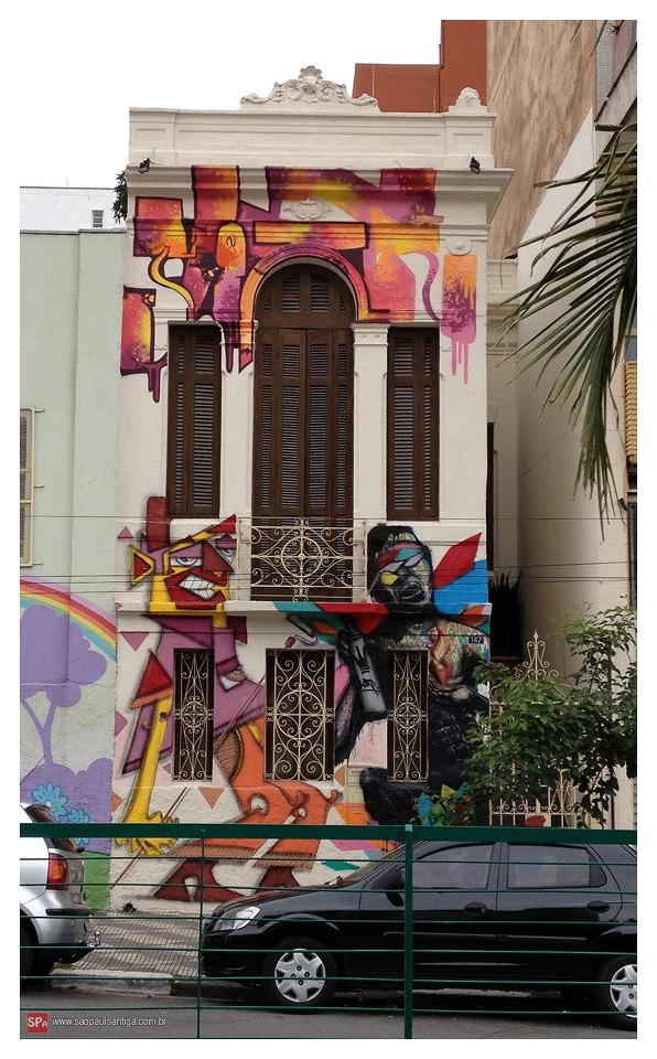 the old house, where you are going to stay , this mural in the facade is in the list of the 30th best urban art in the hypenness magazine, curated by me and art by thug alone, biofa and mogle. welcome!