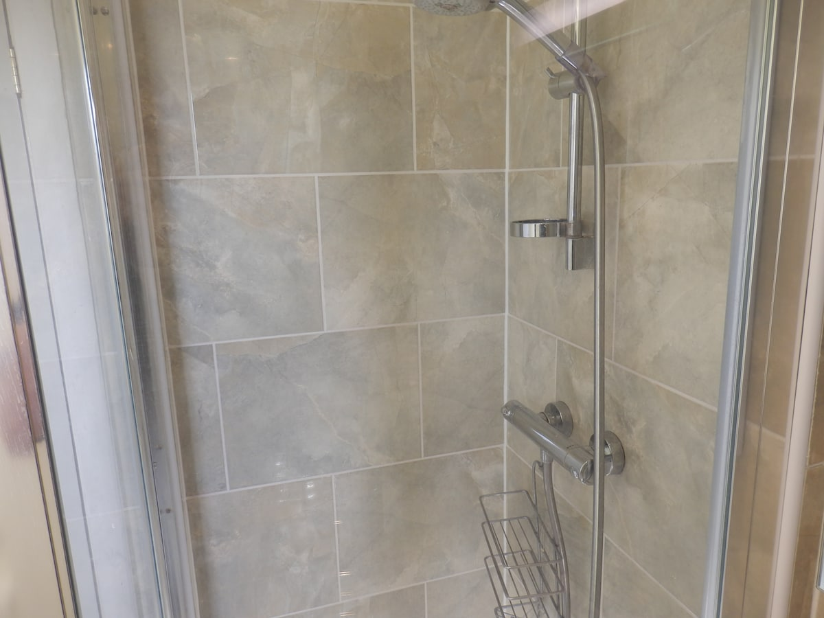 The power shower.