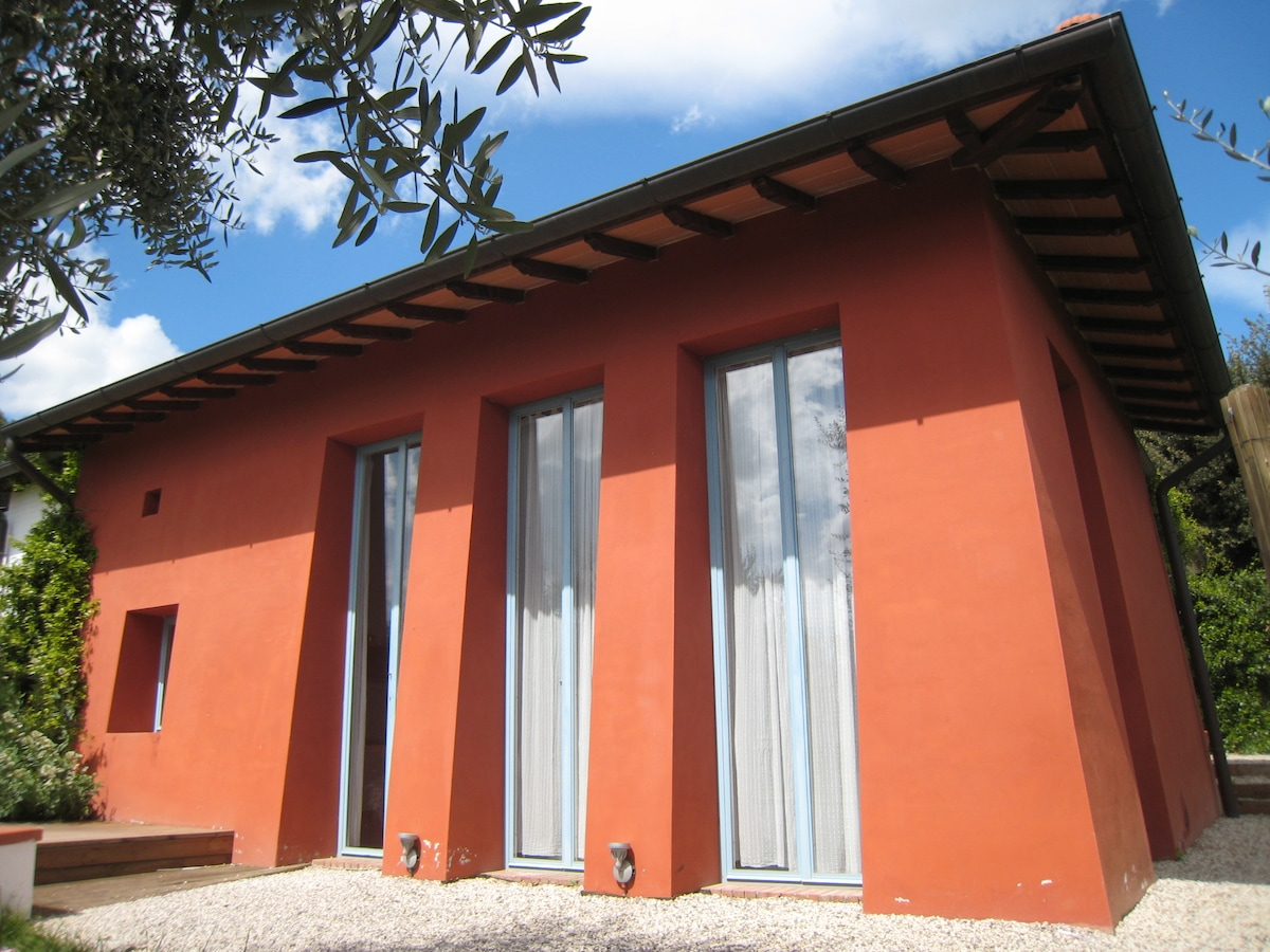 Designed house in Tuscan coutryside