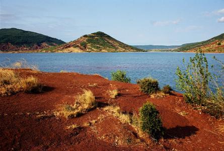 Lac du Salagou à 5mn