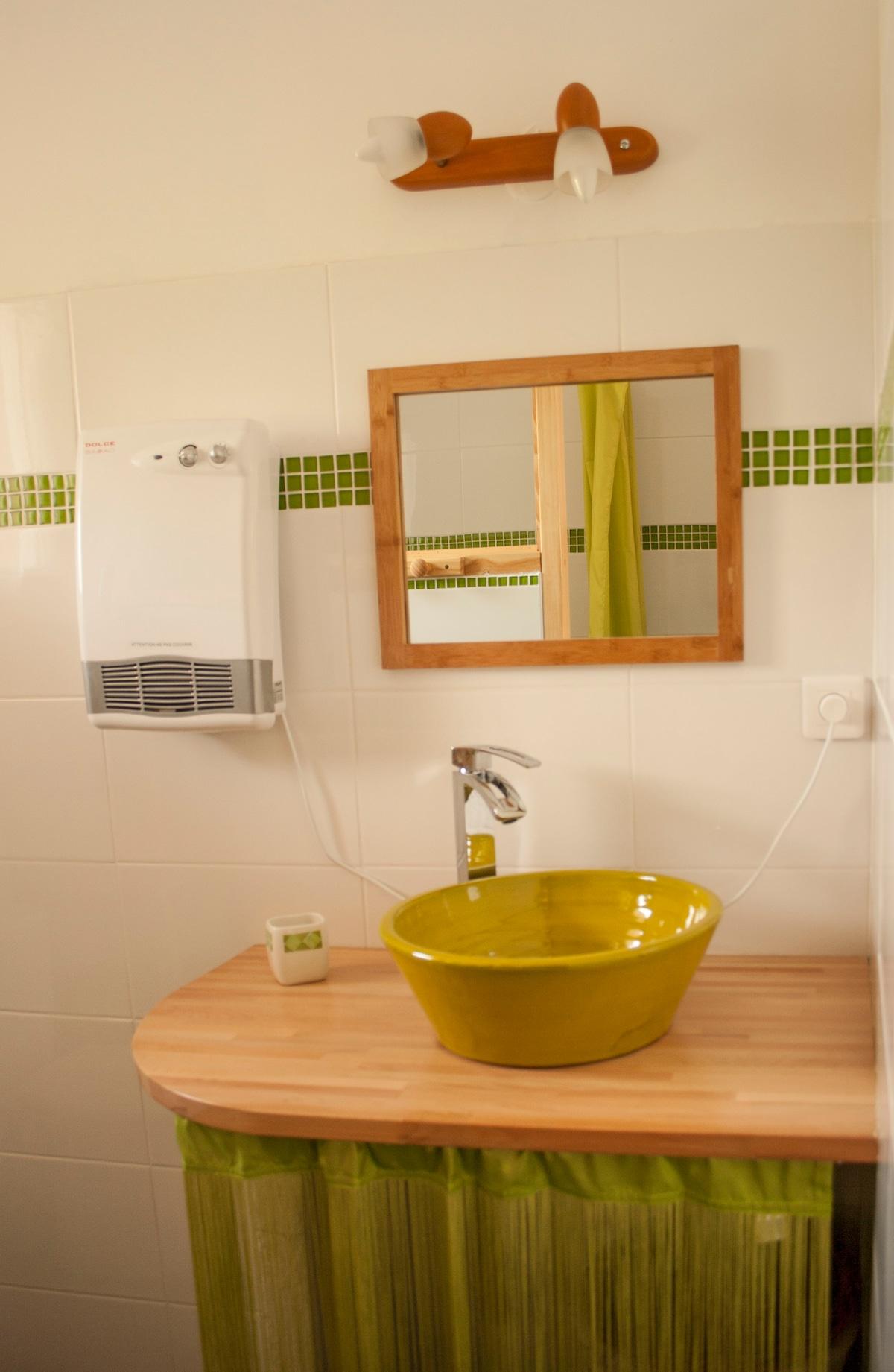 salle de bain / WC avec douche