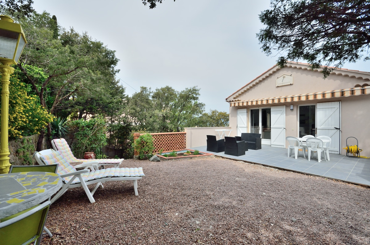 T2 45m² + terrasse/jardin expo sud