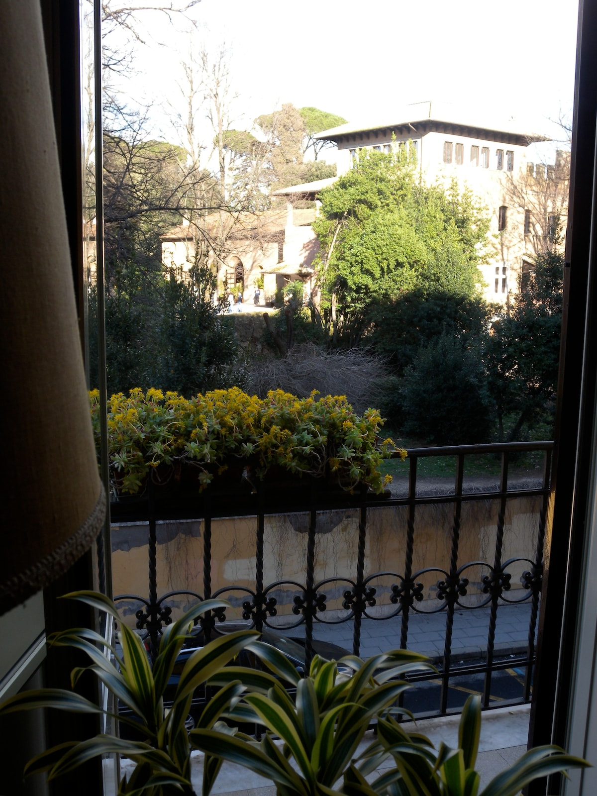 Wonderful Flat in front of the Park