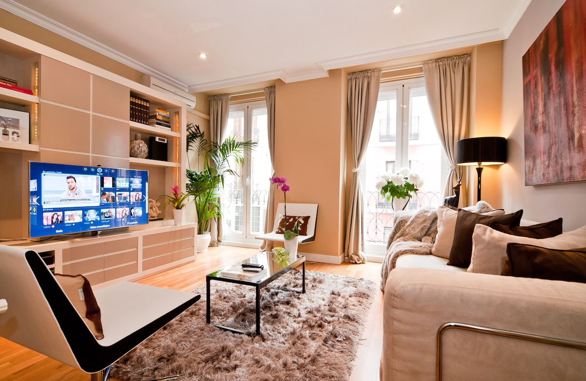 BEAUTIFUL APT. MADRID CENTER WF·AC