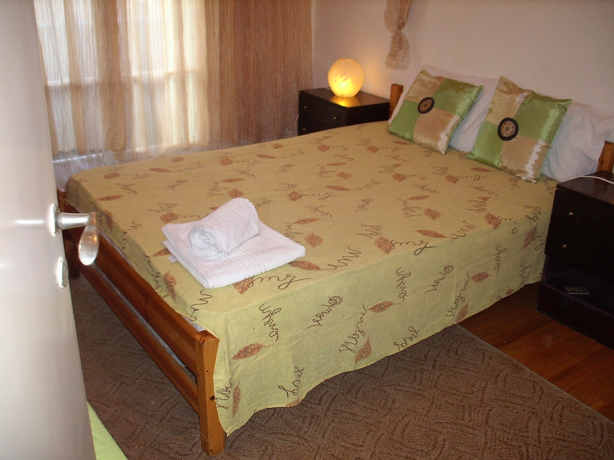 your bedroom in Athens