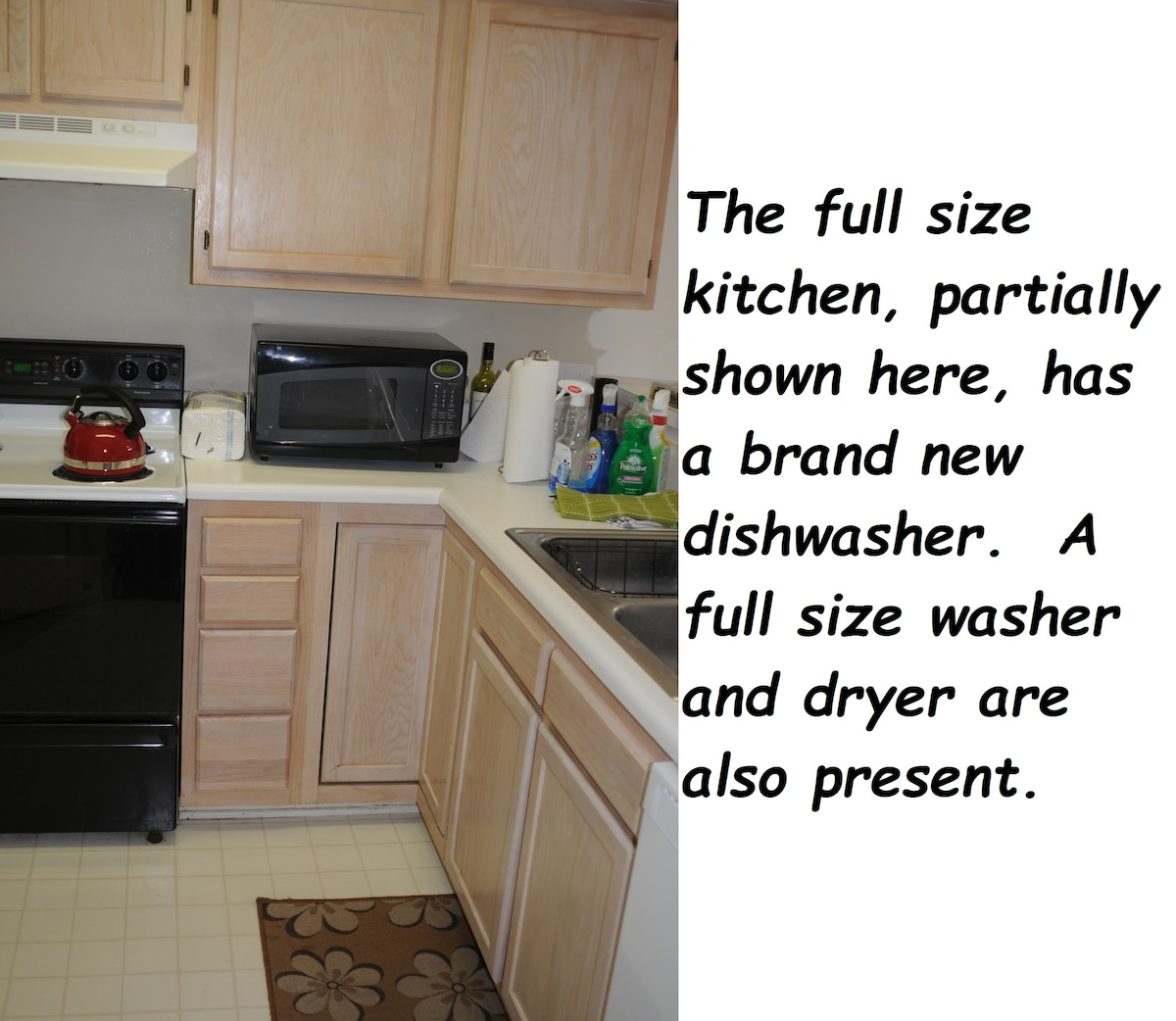 full size kitchen