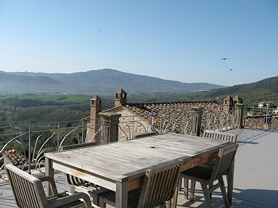 SPLENDID VIEW FROM THE ROOF TOP OF SOGNO PANICALESE