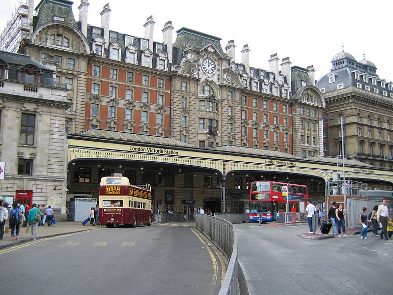 Nearby Victoria Station