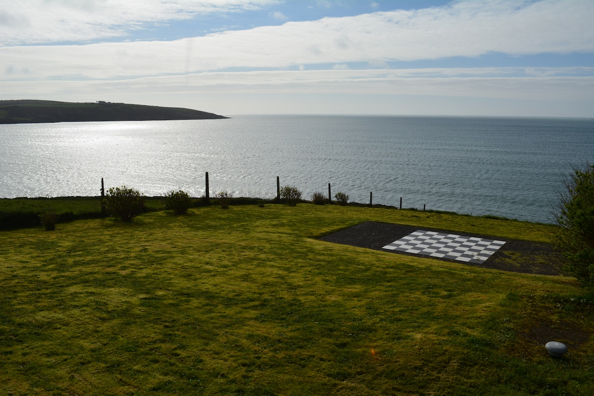 garden with outdoor chess, view of Coolmaine Point