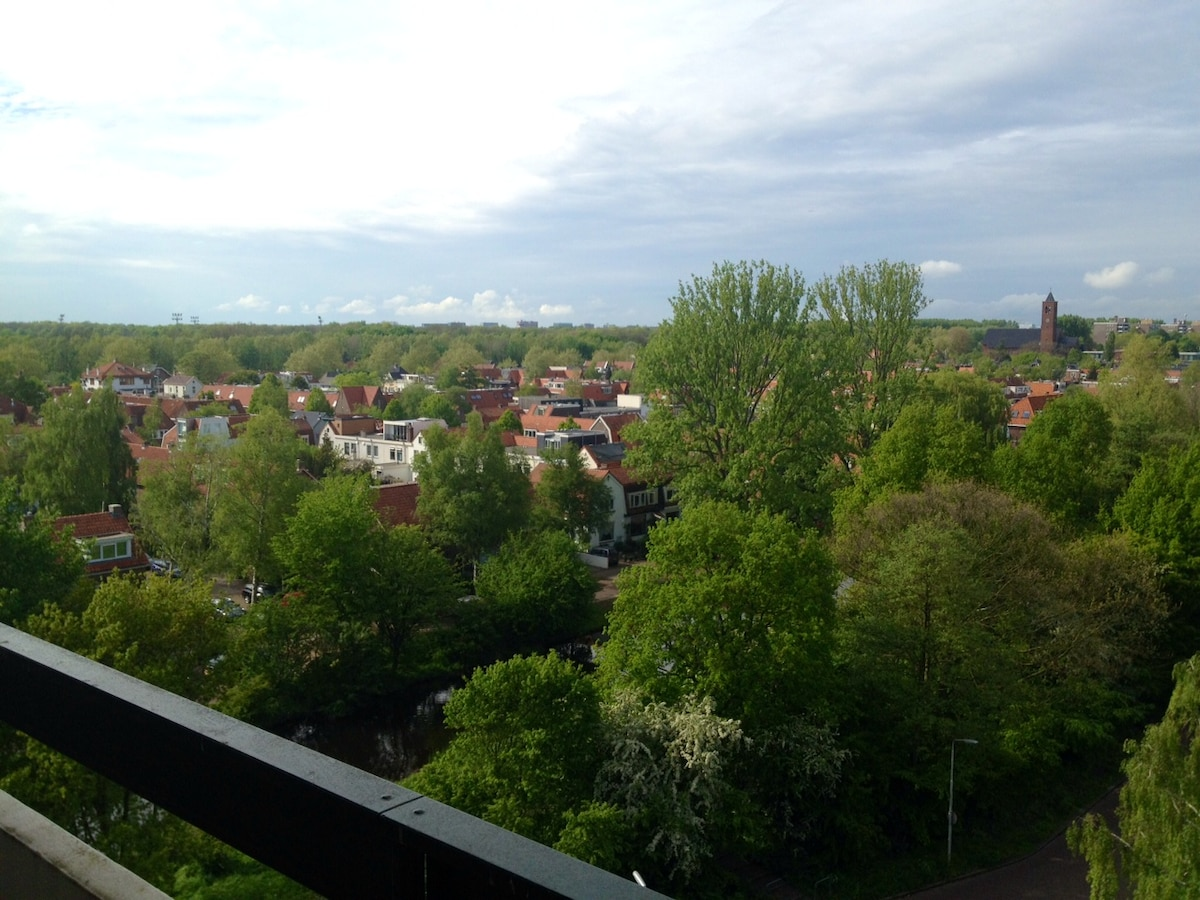 Overview to Amsterdamse Bos