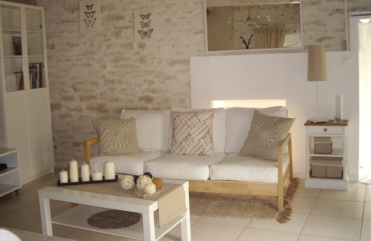 Cottage 5 persons, 5 min from Dijon