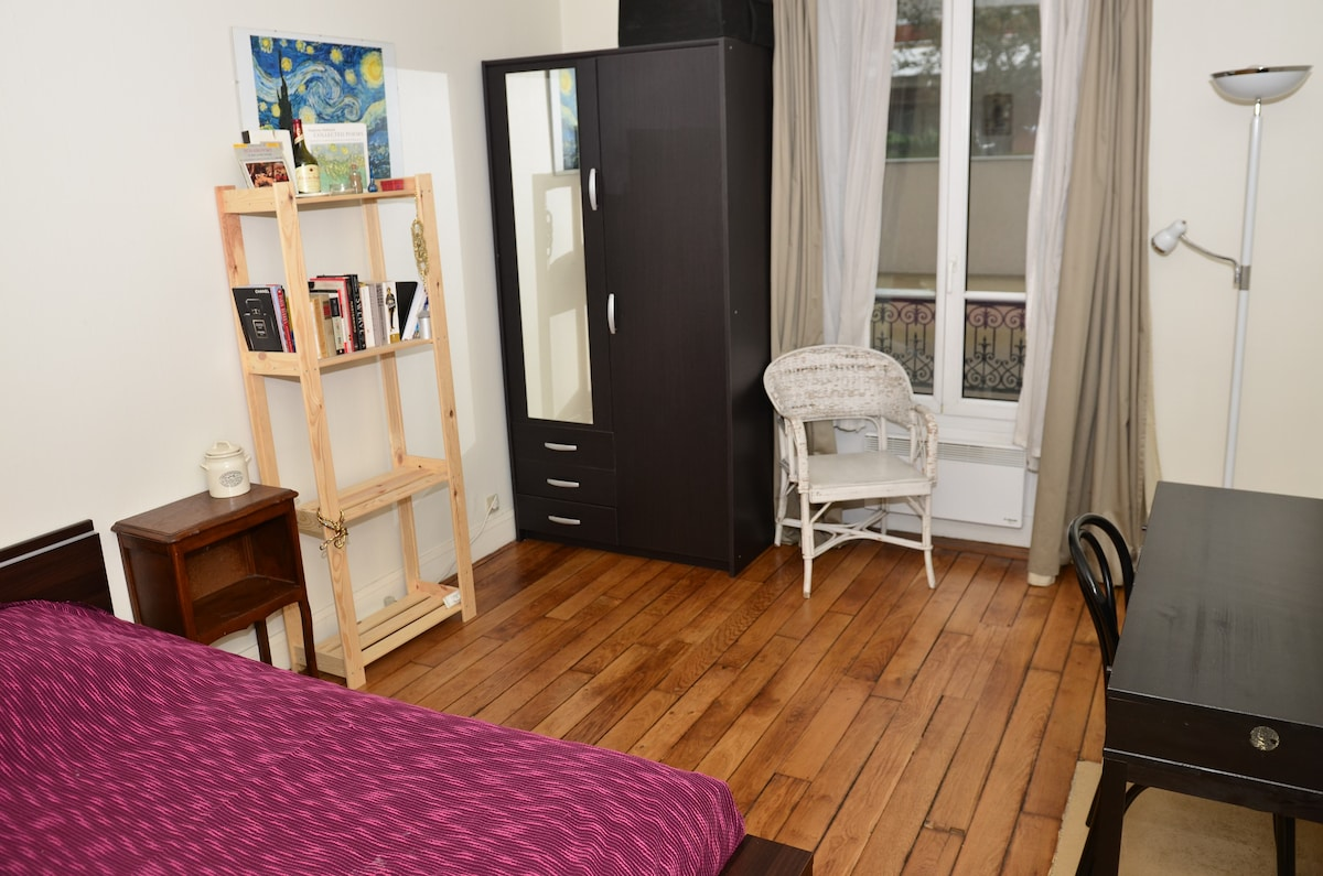 Private Room Central Paris with 3G