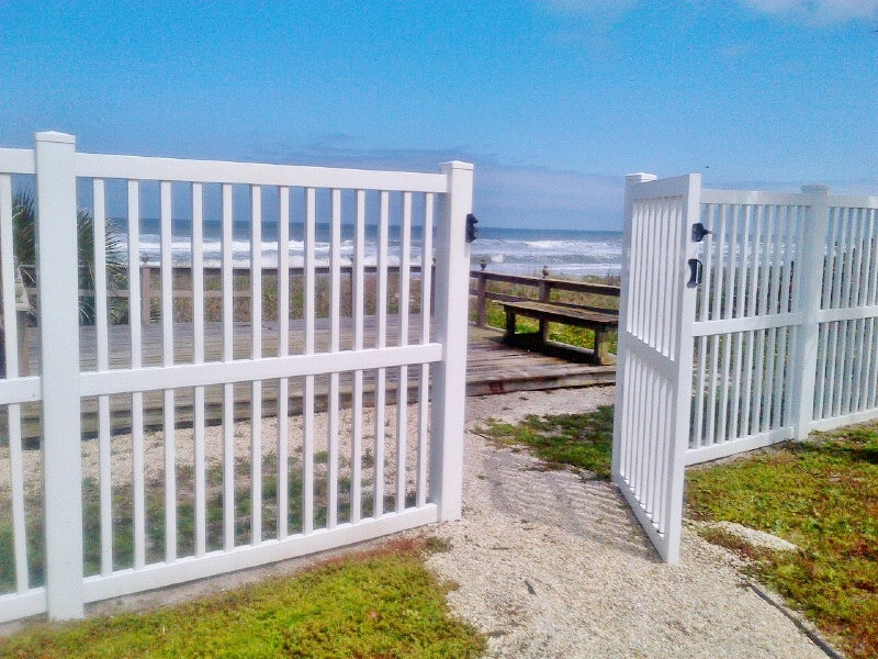Fenced Yard With A View